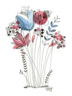 The 25+ best Vector flowers ideas