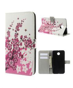 Motorola Nexus 6 Lederen Blossom Flip Case