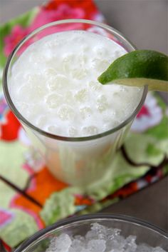 Brazilian Limeade. I just had this today at a luncheon and it was probably the most delicious thing on the face of the planet! I'm addicted! Can't wait to make it everyday!