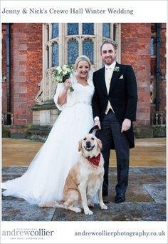 Jenny & Nick's Winter Wedding at Crewe Hall, Cheshire