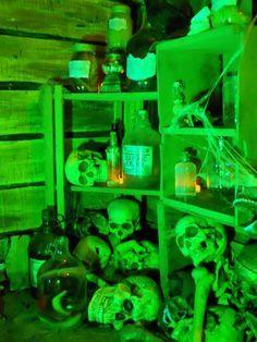 spirit halloween swamp witch display - Google Search