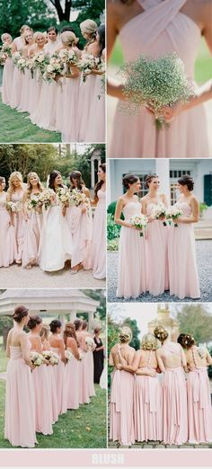 b0dcffe26a7d Bridesmaid dresses. Decide on a most suitable bridesmaid dress for the  wedding ceremony. You