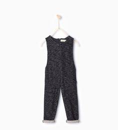 ZARA - KIDS - Plush jumpsuit