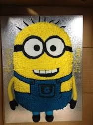 minion birthday cake - Google Search