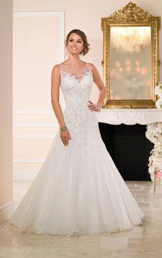 Wedding Dresses   Organza Wedding Dress   Essesnse of Australia #SoStella #WeddingDress