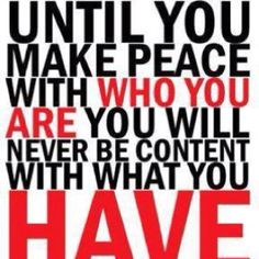 I think making peace with yourself is the hardest thing to do! From Bright Faith Super Nova on FB. Quotable Quotes, Motivational Quotes, Inspirational Quotes, Funny Quotes, Quotes Quotes, The Words, Great Quotes, Quotes To Live By, Peace Quotes