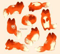 Картинки по запросу fox anime art