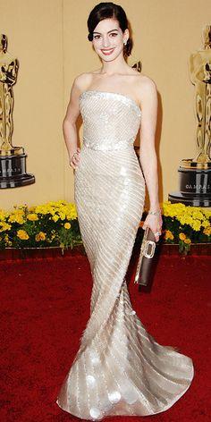 Anne Hathaway - Oscars Best - Giorgio Armani