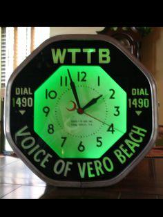 Vero Beach Radio Station Clock