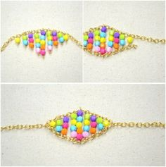 Beaded-Bracelet-Tutorial-–-How-to-Make-a-Beaded-Chain-Bracelet-within-15-Minutes-step2