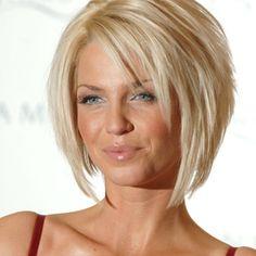 Sarah Harding Hair. If I ever cut it short