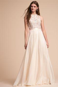 BHLDN Norah Top & Delia Maxi Skirt  in  Bride | BHLDN