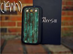 Wood Texture Mint Samsung Galaxy S3 Rubber Case. $15.00, via Etsy.