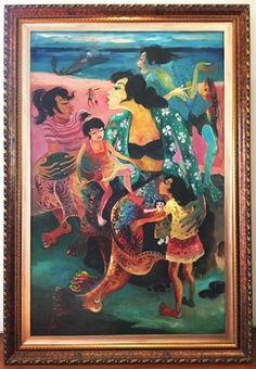 Ibu dan Anak Anak by Hendra Gunawan on artnet Auctions