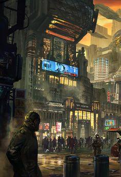 "cosmicwolfstorm: "" Artwork by Yong Yi Lee """