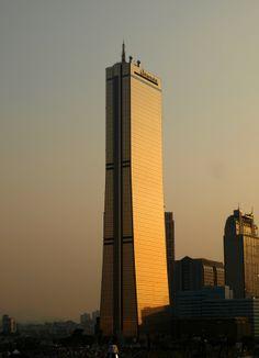 KLI 63 Building,Seoul, South Korea; 249.6 m – 60 fl; completion 1985
