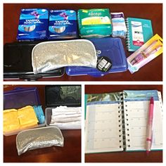 Girls First Period Kit Crayon Boxes for organizing pads/tampons Pencil Pouch for traveling with pads/tampons Planner for tracking when her next period will be. Hopefully we will have cloth pads in the containers! First Period Kits, Period Hacks, Period Tips, Period Party, School Survival Kits, Crayon Box, Raising Girls, Pencil Pouch, Kids And Parenting