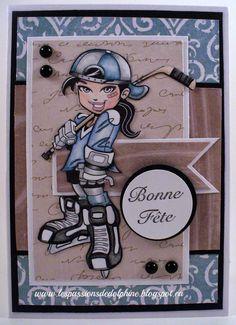 Hockey girl Kenny K.