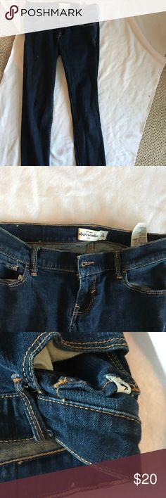 abercrombie jeans dark wash skinny dark washed kids size 16 abercrombie kids Jeans Skinny