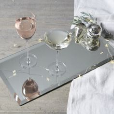 Art Deco Mirrored Charger from The White Company