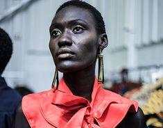 Backstage at SA Fashion Week