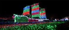The Lights Festival in Kunming Horti Expo Garden