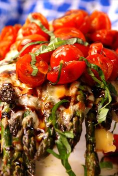 Caprese Asparagus  - Delish.com