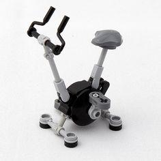 Exercise Bike by @letrangerabsurde. Follow @brickinspired for more #LEGO inspiration! #brickinspired