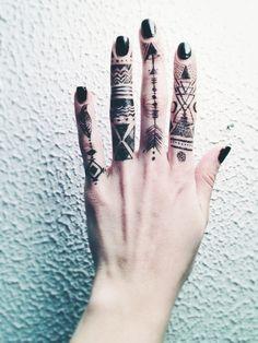 Beautiful Hand Art