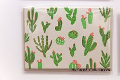 The National Stationery Show: cactus cards from Hello!Lucky