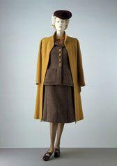 Suit and coat, Utility Scheme. Worth. 1942. London.