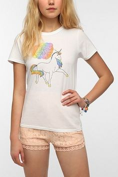 Junk Food Haters Gonna Hate Unicorn Tee