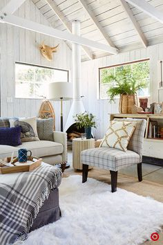 When it comes to mixing plaids, don't be afraid to break the rules. A mixture of patterns can look really great together so long as you keep them within a few key colors.