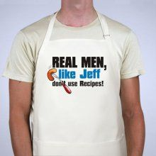 Real Men Personalized BBQ Aprons