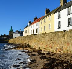 Tour Scotland Photograph Anstruther East Neuk Of Fife January 21st 02