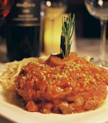 Date night restaurant -Via Emilia -Our Famous Veal Osso Buco