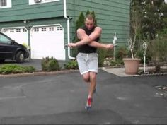 Fast jump rope and some tricks