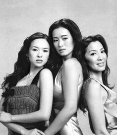 Gabu Wing Chun Campfire — culturapoprigor: Zhang Ziyi, Gong Li e Michelle...
