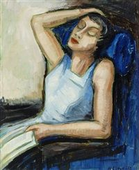 Siesta by Agnes Cleve