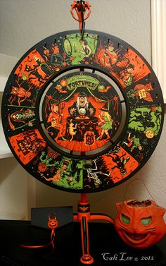 Halloween Treasures  If you like vintage Halloween decorations and wish to see that style resurrected on repurposed items, you will LOVE the work of Cali Lee.