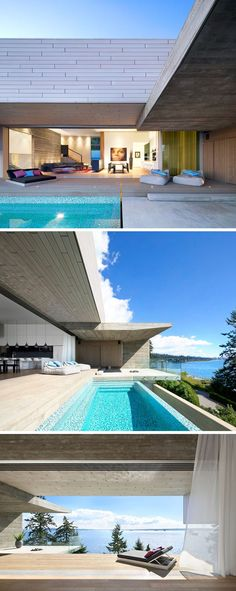 This new house in Vancouver is designed to take advantage of its amazing ocean views | CONTEMPORIST