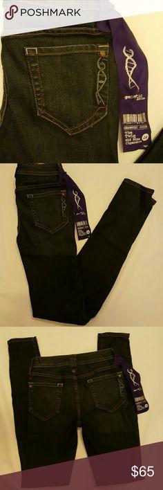 "🎈SALE  NWT Genetic Denim cigarette jeans NWT Genetic Denim mid rise cigarette jeans ""The Twig"". Inseam 31 inches, rise 8 inches. Genetic Denim Jeans Skinny"