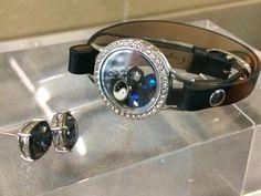 NEW Origami Owl wrap around leather bracelets and swarvoski crystals!!!  www.emilycurtis.origamiowl.com