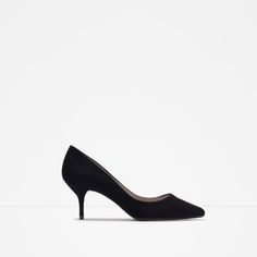 Image 1 of MEDIUM HEEL COURT SHOE from Zara http://www.zara.com/us/en/woman/shoes/view-all/medium-heel-court-shoe-c734142p2839041.html