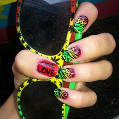 i want the sun glasses even though i like the nails too ❤