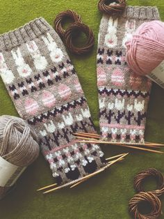 Nordic Yarns and Design since 1928 Wool Socks, Knitting Socks, Hand Knitting, Bunny Crafts, Marimekko, Mittens, Hello Kitty, Knit Crochet, Diy And Crafts