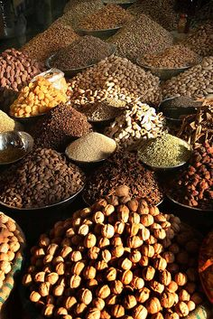 Dry fruit in winter season is sold in abundance in Pakistan