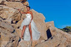 ibiza, mountain white dress, blue sky, fashion photographer, internationally published photographer, fashion, beauty