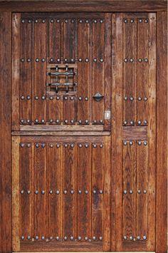 Puertas rusticas en madera buscar con google puertas y - Puerta rustica exterior ...