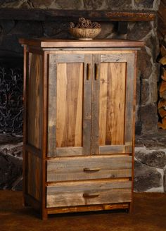 wyoming collection 2 drawer armoire from rocky mountain decor log furniture wood pallet